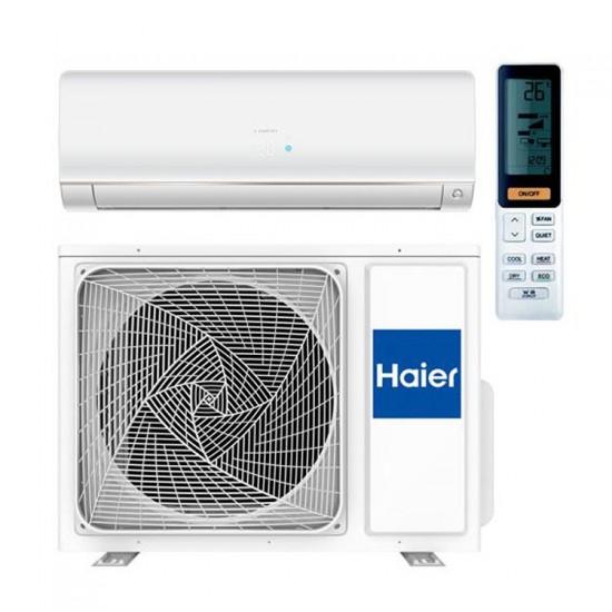 Haier binnen + buitenunit wand Flexis mat wit 7 kW R32 met self clean functie inclusief IR afstandsbediening