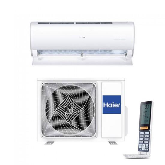 Haier binnen + buitenunit wand Jade wit 5 kW R32 inclusief IR afstandsbediening