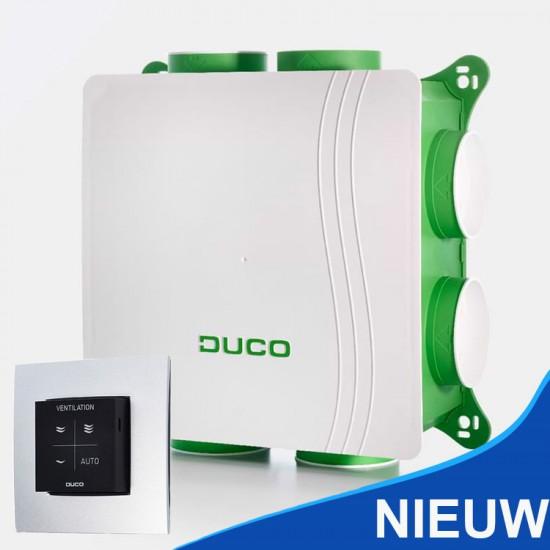 Duco Silent woonhuis ventilatiebox met hoofdbediening 400 m³/h (Woonhuisventilatie)