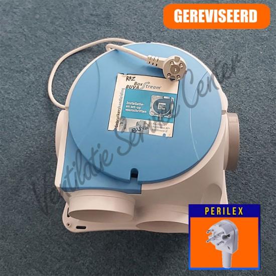 Buva Boxstream gereviseerde ventilatiebox met perilex stekker (Woonhuisventilatie)