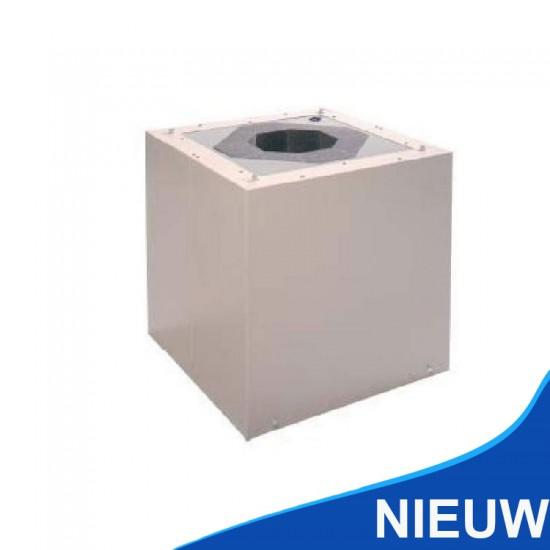 Zehnder GDH-K 245 geluiddemper gecoat 304010245 (Dakventilatie)