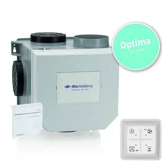 Itho Daalderop CVE-S OptimaFlow Co2 ventilatiepakket met vochtsensor en RF zender (Woonhuisventilatie)