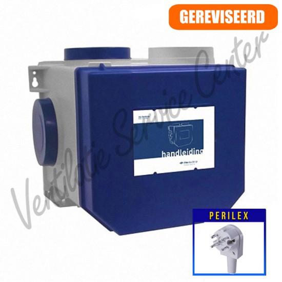 Itho Daalderop woonhuis ventilatiebox CVE ECO RFT met perilex stekker (Woonhuisventilatie)