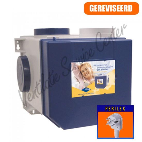 Itho Daalderop CVE Ecofan2 woonhuis ventilatiebox met perilex stekker (Woonhuisventilatie)