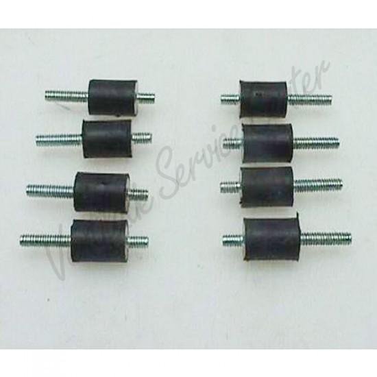 Itho Daalderop set trillingsdempers 8 stuks tbv HRU2/3 545-4681 (Ventilatiebox onderdelen)