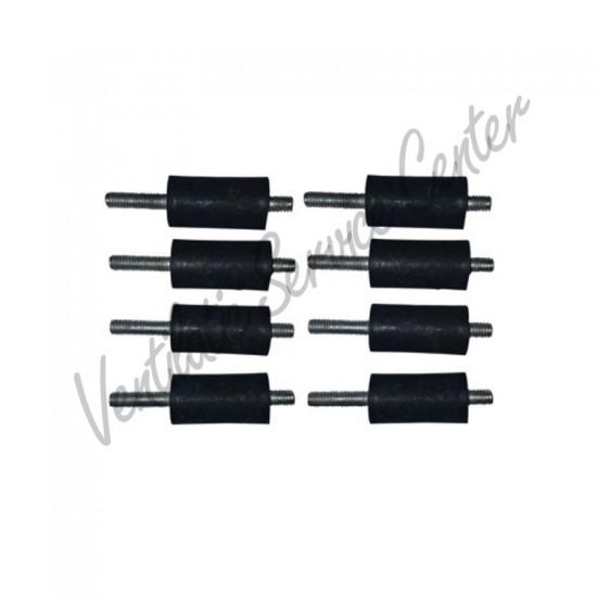 Itho Daalderop set trillingsdempers 8 stuks tbv HRU 545-4682 (Ventilatiebox onderdelen)
