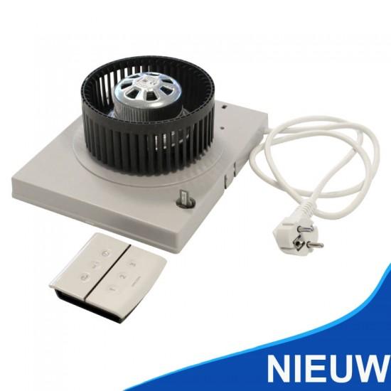 Orcon motorplaat t.b.v. MVS inclusief draadloze bediening 21900900