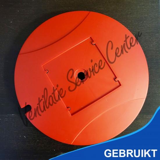 Zehnder comfofan topcover deksel rood (Ventilatiebox onderdelen)