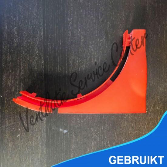 Zehnder comfofan inzetstuk deksel rood (Ventilatiebox onderdelen)