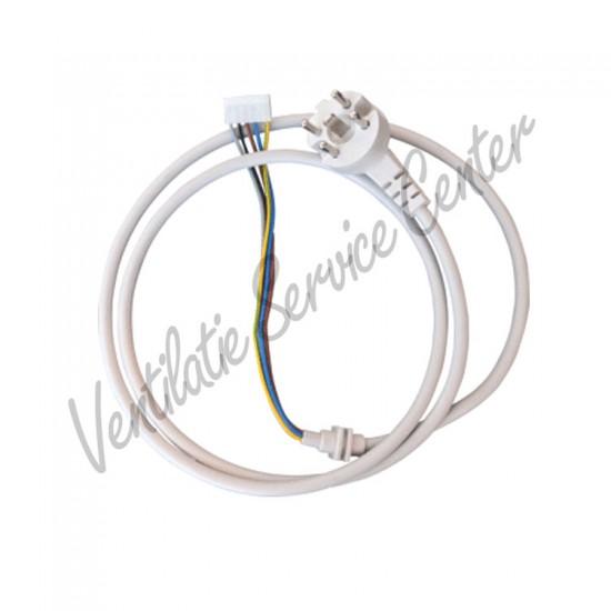GEBRUIKTE Zehnder Stork Buva voedingskabel perilex 5 polige stekker (Ventilatiebox onderdelen)