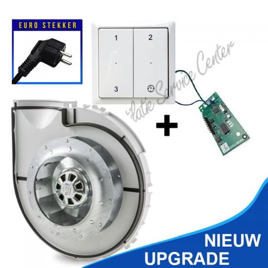 Zehnder motordeel Comfofan incl. draadloze zender met EURO stekker (Ventilatieboxonderdelen)