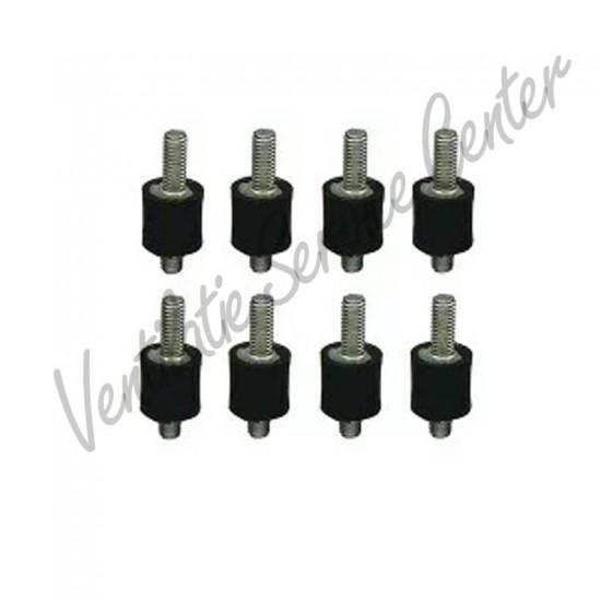 Zehnder set trillingsdempers (8 stuks) tbv WHR91/950 WHR/G 400600001 (Regelingen)