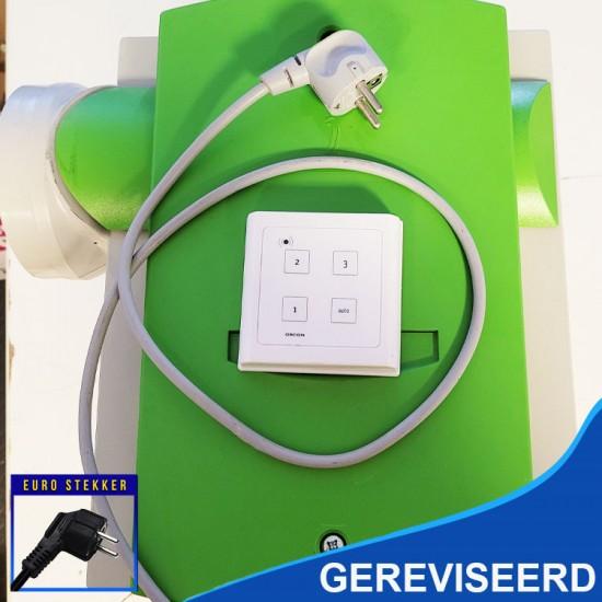 Orcon MVS-10RH woonhuisventilator met vochtsensor en draadloze RF bediening (Woonhuisventilatie)