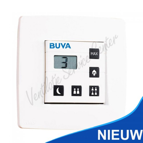 Buva Qstream Picto hoofdbediening 5 knops 230v 2905767 (Regelingen)