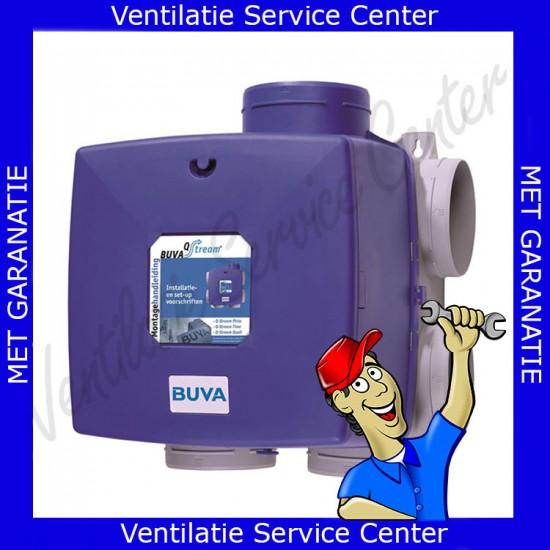 Reparatie revisie van uw ventilatiemotor motorplaat Buva Qstream lagers vervangen (Ventilatiebox reparatie)