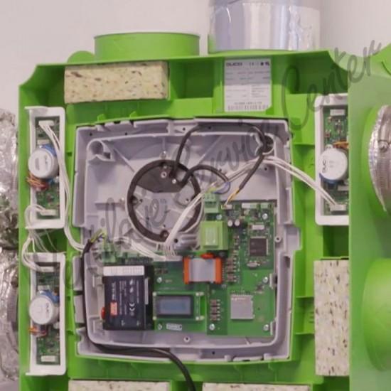 Reparatie revisie van uw ventilatiemotor DUCO lagers vervangen (Ventilatiebox reparatie)