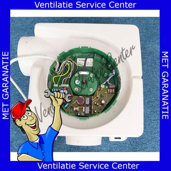 Reparatie revisie van uw ventilatiemotor motorplaat Stork CMLe lagers vervangen (Ventilatiebox reparatie)