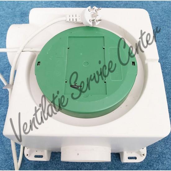 Reparatie revisie van uw ventilatiemotor motorplaat Stork CML lagers vervangen (Ventilatiebox reparatie)