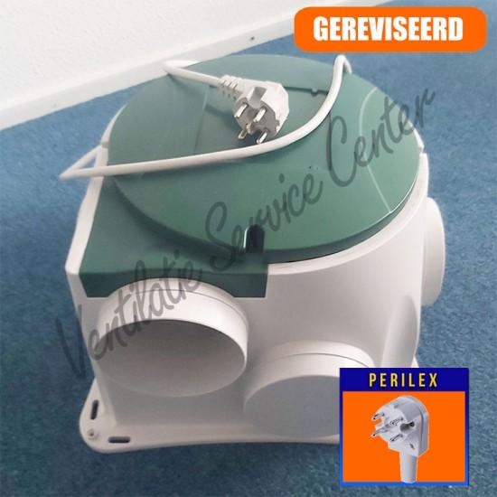 Stork Zehnder CMFe gereviseerde ventilatiebox met perilex stekker (Woonhuisventilatie)