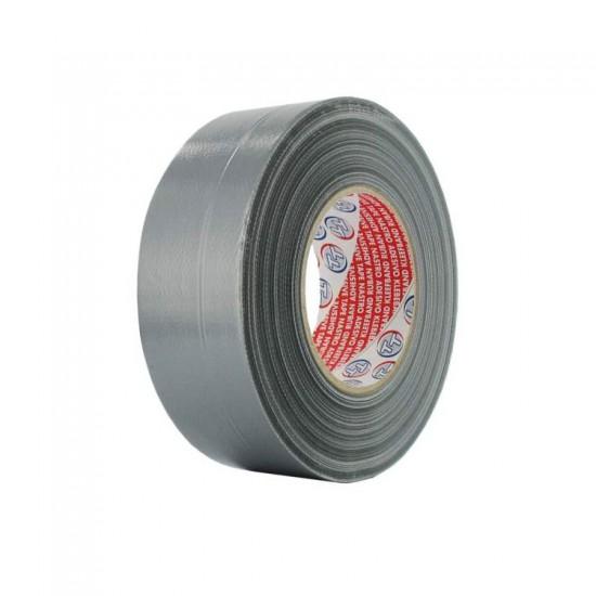 Duct tape lengte 50 meter breedte 50mm grijs (Ventilatie toebehoren)