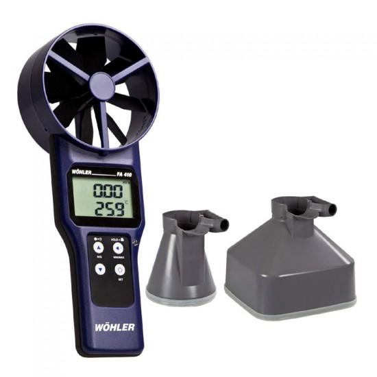 Wöhler FA 410 vleugelrad anemometer set 4155