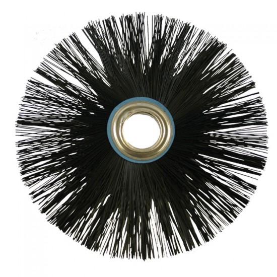 Wohler lijnster veegborstelkop Perlon 25cm 13725
