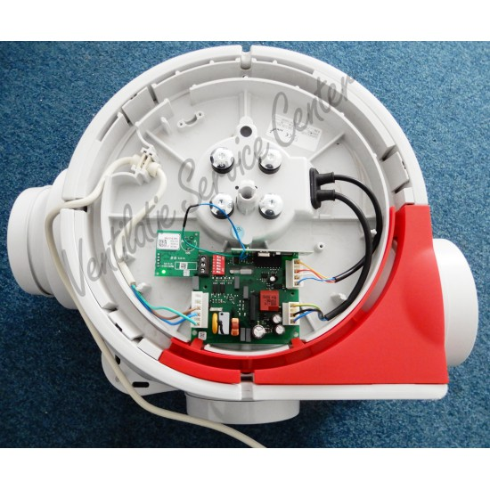 Zehnder Comfofan S HYGRO ventilatiebox met vochtsensor, PERILEX stekker en draadloze zender (Woonhuisventilatie)