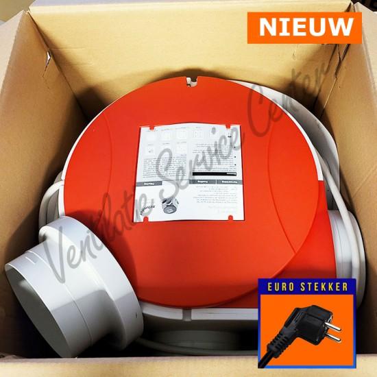 Zehnder Stork ventilatiebox Comfofan S met euro stekker NIEUW (Woonhuisventilatie)