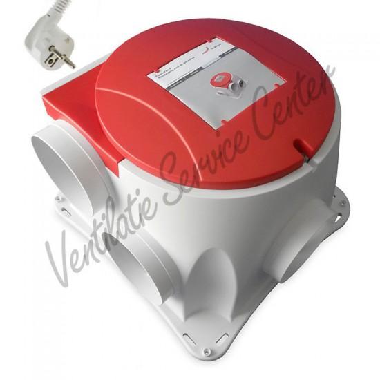 Zehnder Stork gereviseerde ventilatiebox Comfofan S met euro stekker (Woonhuisventilatie)