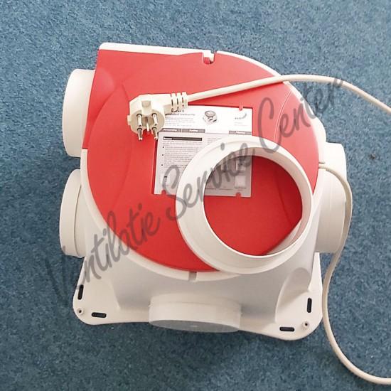 Zehnder Stork gereviseerde ventilatiebox Comfofan S met perilex stekker (Woonhuisventilatie)